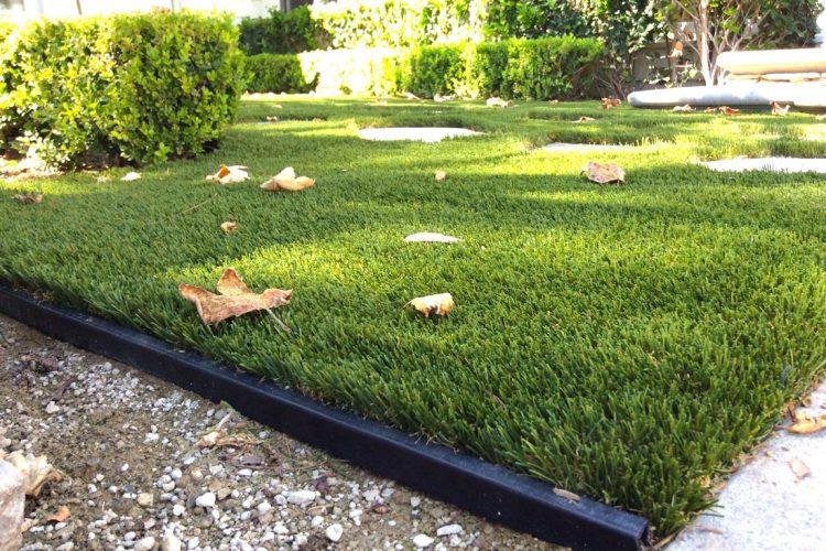 Artificial Lawn Supplies Green Where Grass Don't Grow