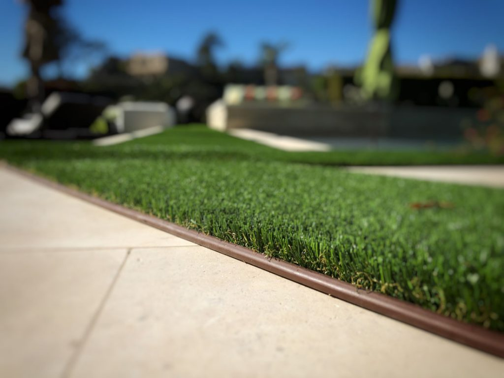 synthetic turf supplies the look of grass without the maintenance