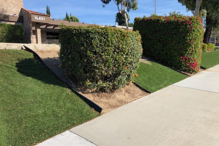 When Fake Grass Edging Won't Stay in Place – Edge Creep
